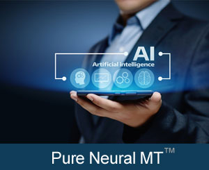 Enterprise Translation Software Pure Neural