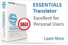 Essentials Translator