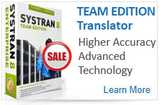 SYSTRAN Enterprise Editions