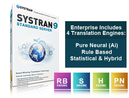 SYSTRAN Enterprise with PNMT