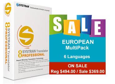 European multilanguage pack