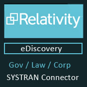 Systran Relativity connector
